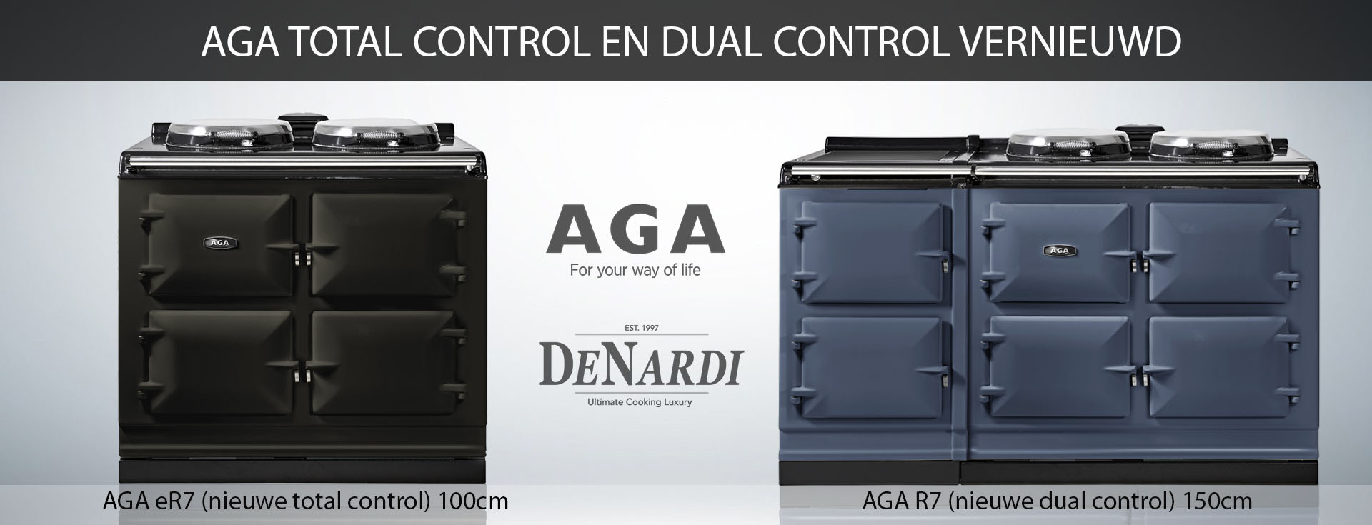 Nieuwe AGA eR7 en R7